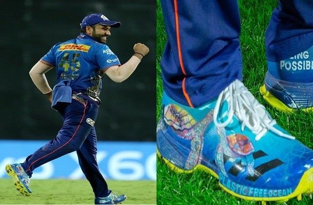 Photo of रोहित शर्मा के जूते एक बार फिर चर्चा में, लोग कर रहे जबरदस्त तारीफ
