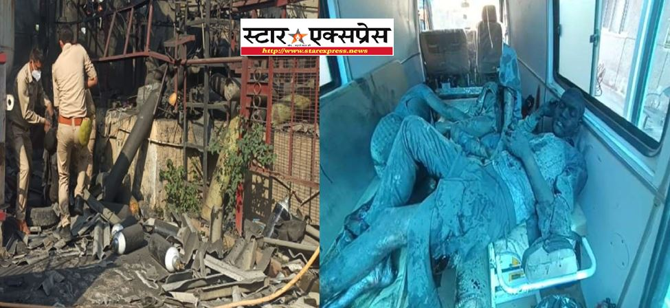 Photo of लखनऊ ऑक्सीजन रिफलिंग के दौरान सिलेंडर फटने से हुआ हादसा, CM  योगी ने लिया संज्ञान