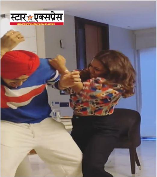 Photo of नेहा कक्कड़ और पति रोहनप्रीत सिंह की लड़ाई का फनी वीडियो वायरल, जाने फैंस ने किए कैसे – कैसे कमेंट