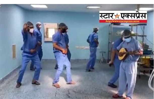 Photo of डॉक्टरों ने सलमान खान की राधे फिल्म के सीटी मार गाने मे किया डांस, वीडियो हुआ वायरल