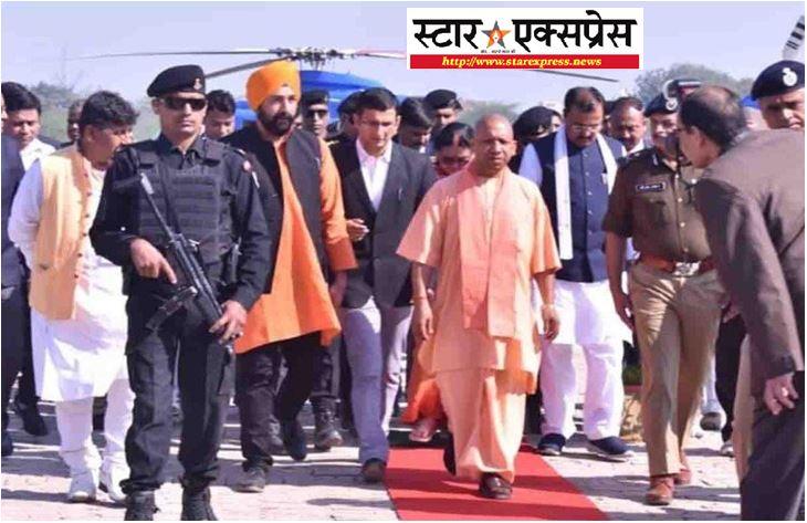Photo of सीएम योगी का अलीगढ़ दौरा, 6 मिनट मे किया कोविड कमांड एंड कंट्रोल सेंटर का निरीक्षण