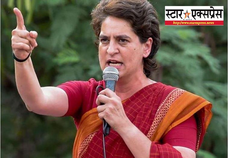 Photo of प्रियंका गांधी ने योगी सरकार पर बोला हमला, कहा- जंगलराज में भगवान भरोसे है महिलाओं की सुरक्षा