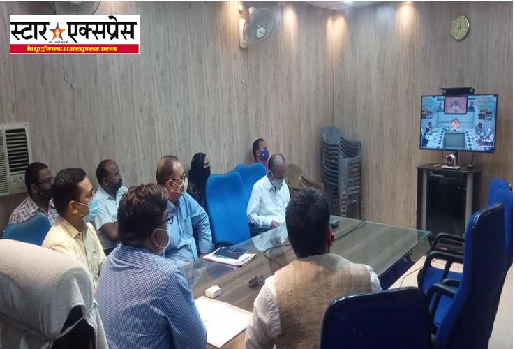 Photo of मुख्यमंत्री द्वारा वीडियो कान्फ्रेन्सिंग के माध्यम से ऑनलाइन ऋण स्वीकृत वितरण हेतु मेला का हुआ अयोजन
