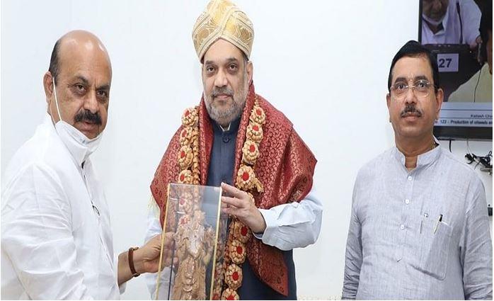 Photo of कर्नाटक के नए सीएम ने गृहमंत्री अमित शाह से की मुलाकात