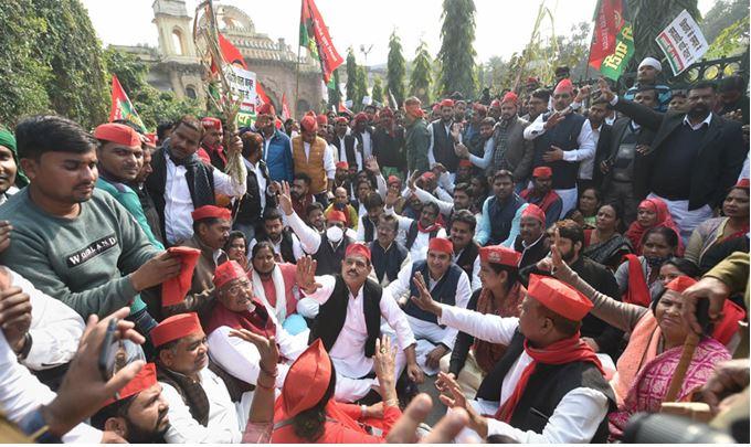 Photo of UP विधानसभा चुनाव से पहले सपा ने लांच किया यह गाना, हो रहा वायरल