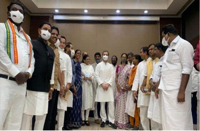 Photo of राहुल गांधी की ब्रेकफास्ट मीटिंग मे शामिल नही हुई आप और बीएसपी
