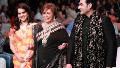 Photo of Bombay Times Fashion Week: रैंप पर उतरीं Salman Khan की मां Helen, देखिए खूबसूरत अदाएं