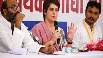 Photo of रिटायर्ड नहीं SC या HC के सिटिंग जज करें जांच : प्रियंका गांधी